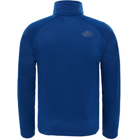 The North Face Youth Canyonlands Zip Fleece Jacket Bright Cobalt Blue Heather